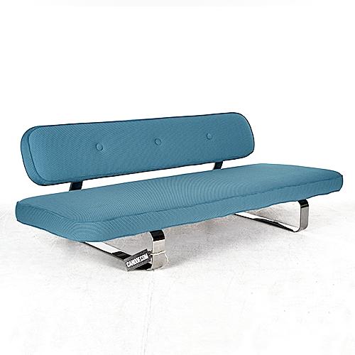 moooi power nap sofa blauw