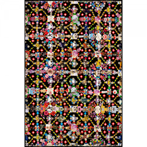 Moooi Carpets Obsession black