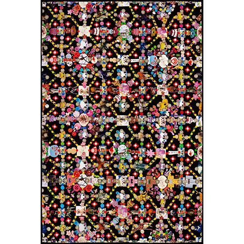 Moooi Carpets Obsession black
