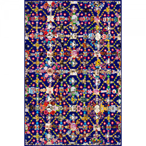 Moooi Carpets Obsession blue