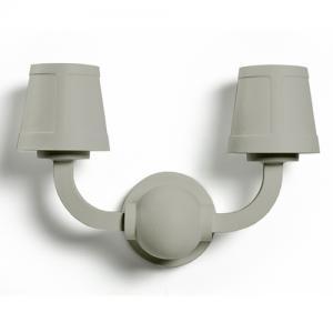 moooi paper wall lamp grijs