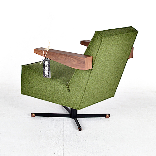 moooi press room chair groen
