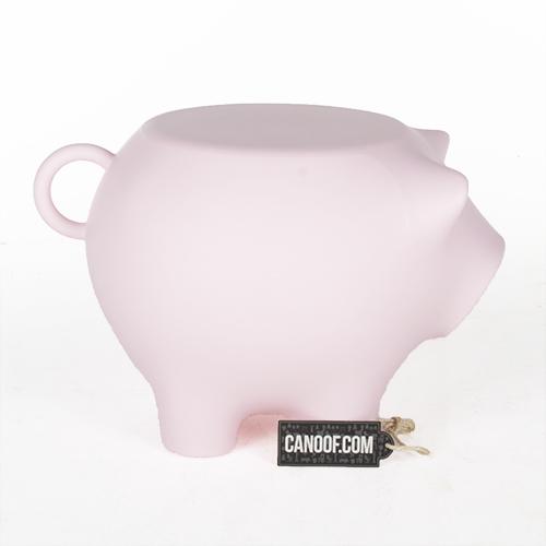 werkwaardig bijzetvarken roze