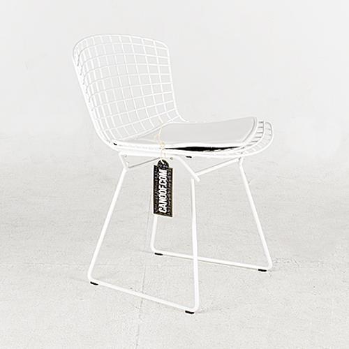 knoll bertoia side chair wit
