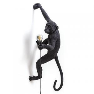 seletti aap lamp zwart hangend rechts