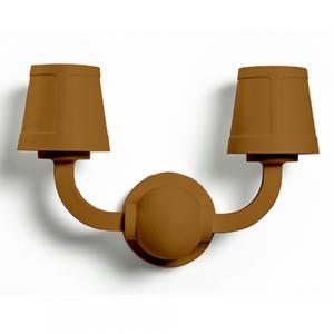 moooi paper wall lamp bruin