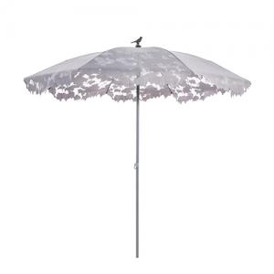 droog parasol grijs