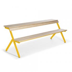 weltevree tablebench 4-seater geel