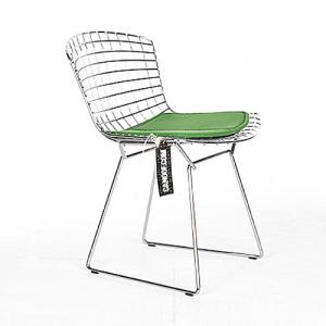 knoll bertoia chair chroom