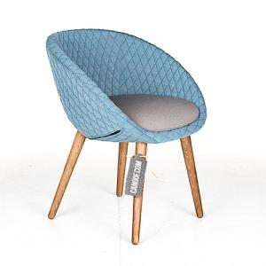 moooi love chair turqouise grijs