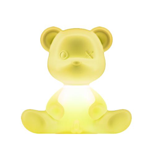 qeeboo teddy boy lamp geel