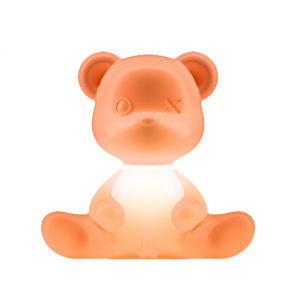 Qeeboo teddy boy lamp oranje