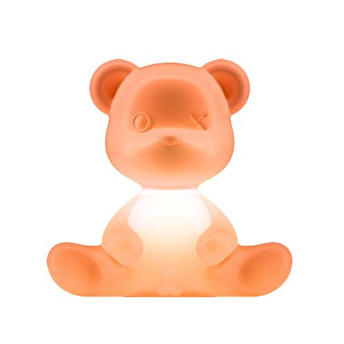 Qeeboo teddy boy lamp oranje