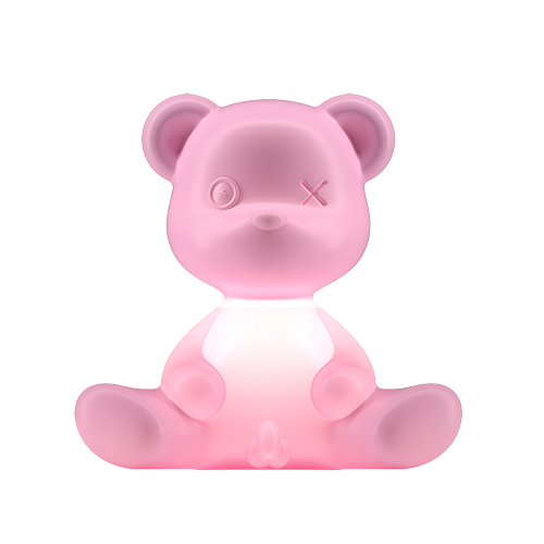 qeeboo teddy boy lamp roze