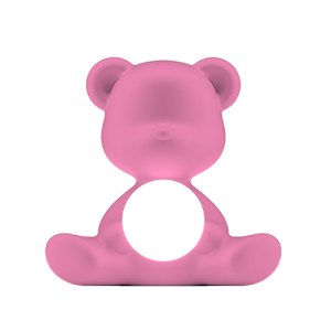 qeeboo teddy girl lamp roze