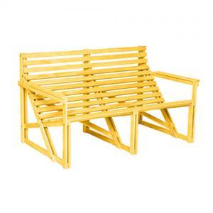 weltevree pation bank 2 personen geel