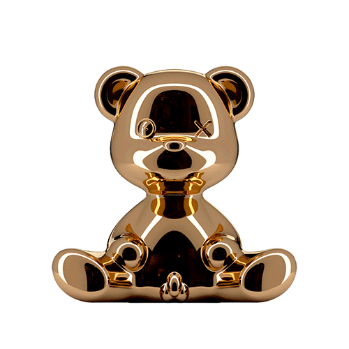 qeeboo teddy boy lamp koper