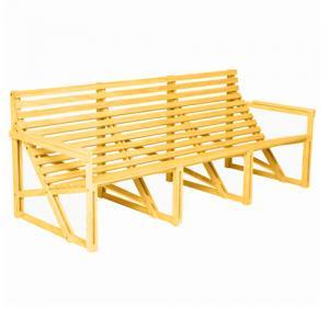 weltevree patio bank 3-personen geel