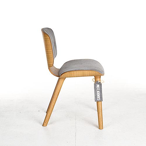 moooi nut stoel grijs naturel justo
