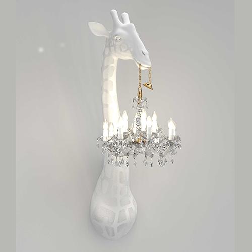 qeeboo giraffe wandlamp