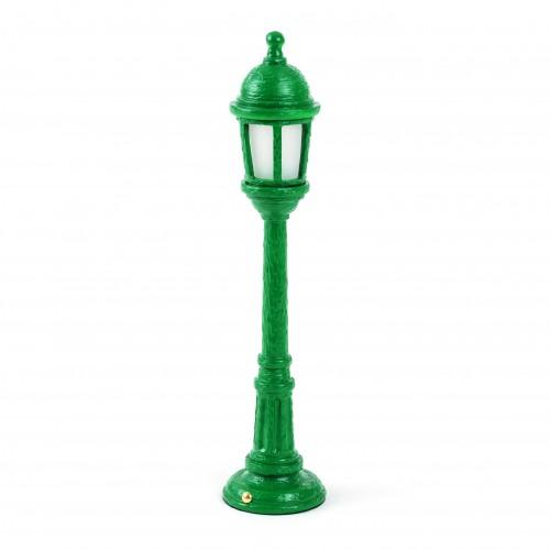 seletti street light tafellamp groen