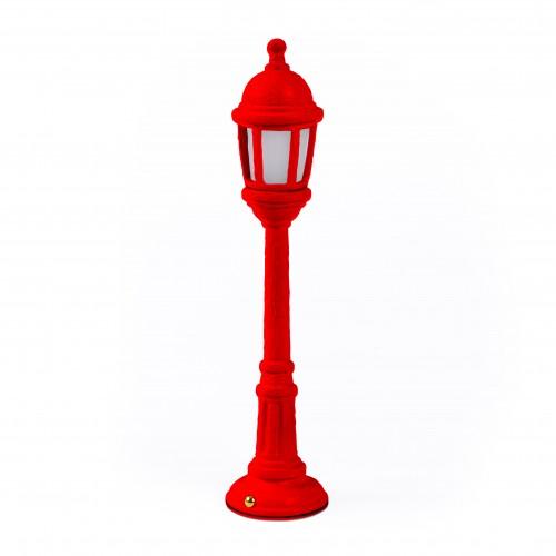 seletti street light tafellamp rood
