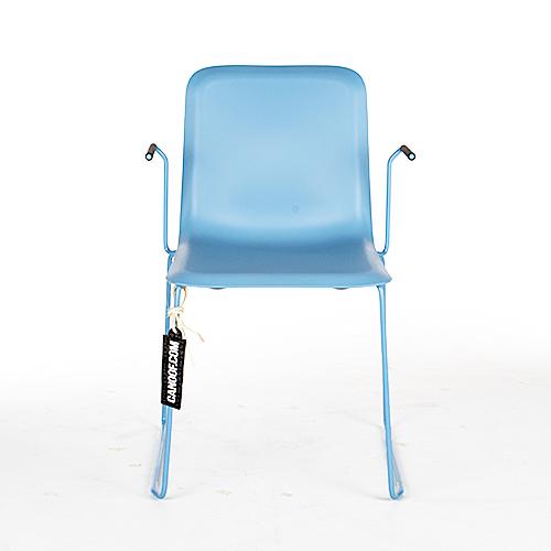 lensvelt that chair lichtblauw armleunigen