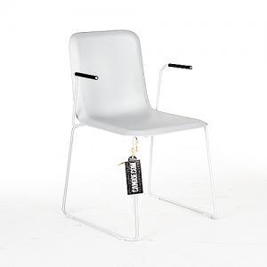 lensvelt that chair lichtgrijs armleuningen