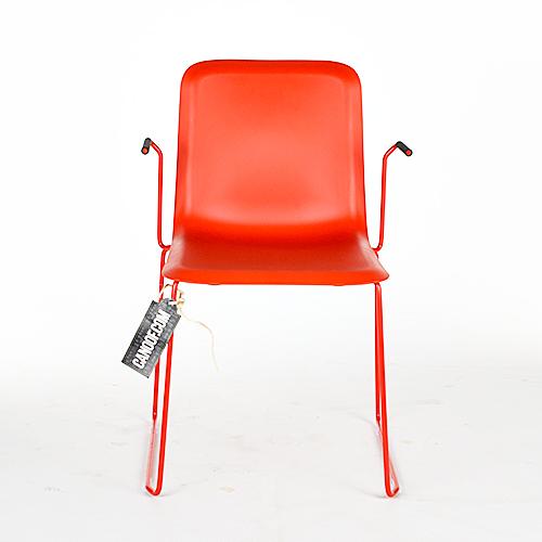 lensvelt that chair rood armleuningen