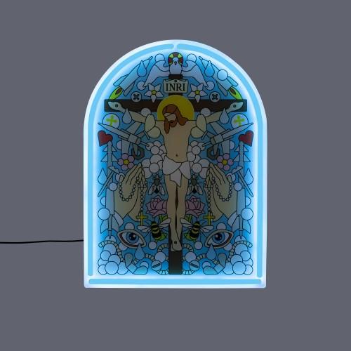 blow gospel wandlamp neon