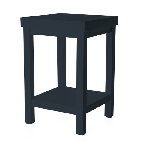 moooi paper side table donkerblauw