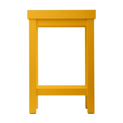 moooi paper side table geel