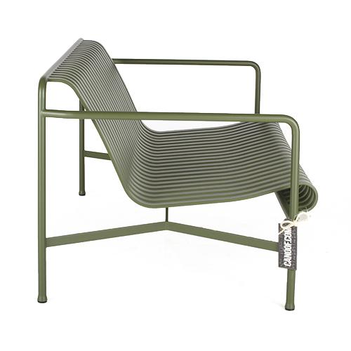hay palissade lounge bank groen