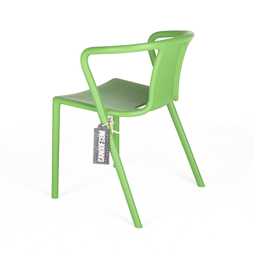 magis air chair armleuningen groen