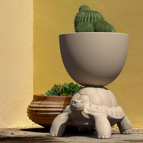 qeeboo turtle plantenbak