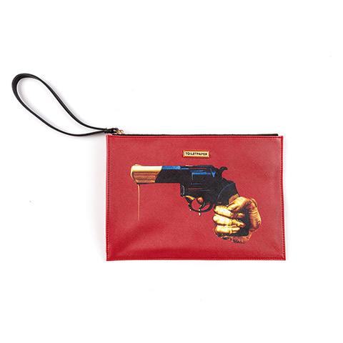 seletti revolver clutch