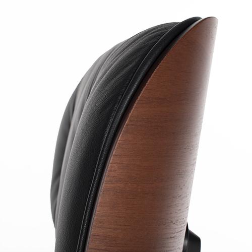 Vitra Eames Lounge Chair en Ottoman mahoniehout